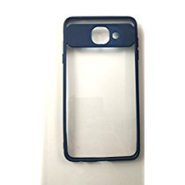 buy online 8a905 ca697 Get Go Hooked Soft Silicone Frame Hard Transparent Back Cover For Samsung  Galaxy J7 Max (BLUE) at Rs 269 | Amazon Offer
