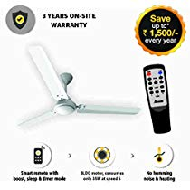 Get Gorilla Energy Saving Bldc Ceiling Fan With Remote 1400 Mm at Rs 3299 | Amazon Offer