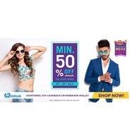 Get Grand Brand Mega Sale Minimum 50% OFF | gofynd Offer