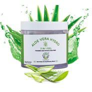Get Greenberry Organics 3 In 1 Aloe Vera Gel For Face, Body and Hair for Nourishment & Hydration at
