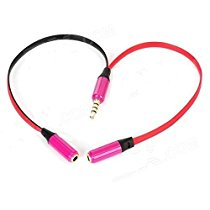Get GreenZone 3.5mm Gold plated Y splitter cable for speaker & headphone at Rs 236 | Amazon Offer