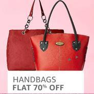 Get Handbags Flat 70% OFF | Amazon Offer
