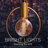 Get Hanging Lights Start Rs.449 at Rs 449 | Pepperfry Offer