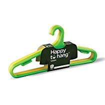 Get Happy To Hang Teeser Polypropylene Hanger, Yellow And Green, Pack of 6 at Rs 102   Amazon Offer