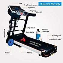 Get Healthgenie Motorized Treadmill 4612A at Rs 43499 | Amazon Offer