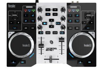 Get Hercules DJControl Instinct S series, ultra-mobile USB DJ Controller at Rs 8585 | Amazon Offer