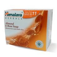 Get Himalaya Herbals Almond and Rose Soap, 125gm (Pack of 4) at Rs 81 | Amazon Offer