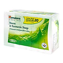 Get Himalaya Herbals Neem and Turmeric Soap, 125gm (Pack of 4) with Value Pack Save 20 at Rs 117 | A