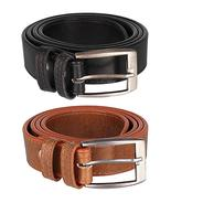 Get Hob London Fashion Mens Belt Combo (Black Brown, 36W X 34L) at Rs 199 | Amazon Offer