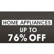 Get Home Appliances Upto 76% OFF | homeshop18 Offer