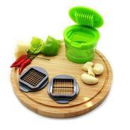 Get Home Belle Green ABS Plastic Garlic Chopper with 2 Different Blades at Rs 99 | Pepperfry Offer