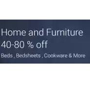 Get Home & Furniture Store Flat 40% - 80% OFF at Rs 199   Flipkart Offer