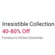 Get Home & Furniture Store Flat 40% - 80% OFF | Flipkart Offer