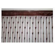 Get Homefab India Heart String Modern Polyester Door Curtain - 7ft, Brown at Rs 142 | Amazon Offer
