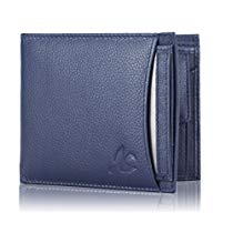 Get HORNBULL Mens Leather Navy Blue Wallet at Rs 449 | Amazon Offer