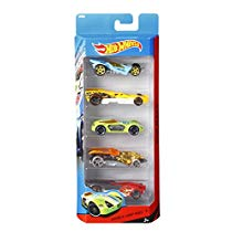 Get Hot Wheels Five Car Gift Pack Assortment Colors and Designs at Rs 317 | Amazon Offer