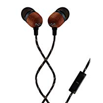 Get House of Marley Smile Jamaica EM-JE041-SB in-Ear Headphones with Mic (Black) at Rs 799 | Amazon