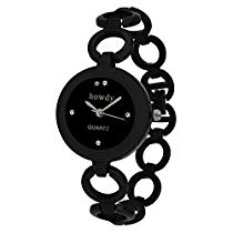 Get howdy Analog Black Dial Black Watch- for – Women's & Girl's at Rs 199 | Amazon Offer