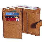 Get HP-01 Forrester tan vertical trifold wallet at Rs 215 | Shopclues Offer