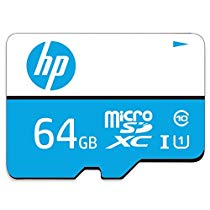 Get HP 64GB Class 10 MicroSD TF Memory Card (Blue) at Rs 899 | Amazon Offer