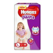 Get Huggies Wonder Pants Large Size Diapers (48 Count) at Rs 419 | Amazon Offer
