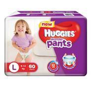 Get Huggies Wonder Pants Large Size Diapers - L (60 Pieces) at Rs 612 | Flipkart Offer