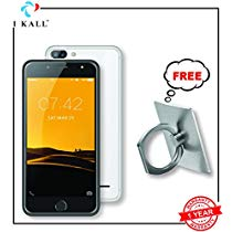 Get I KALL K1 Silver 5 Inch Display 18GB 4G Volte Smart Phone W at Rs 3510 | Amazon Offer