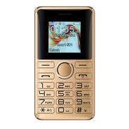 Get I KALL K27 Bluetooth Card Phone With Pedometer Feature - Golden at Rs 764 | Amazon Offer