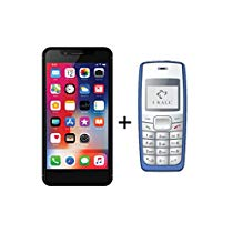 Get IKALL K3 5inch 4G Android Phone with K72 Mobile PhoneBlueBl at Rs 3999 | Amazon Offer