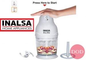 Get Inalsa Easy Chop 250-Watt Mini Chopper      at Rs 1049   Amazon Offer