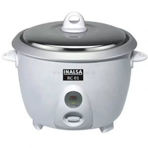 Get Inalsa RC01 Electric Rice Cooker (1.8 L, Pack of 4)     at Rs 825 | Flipkart Offer