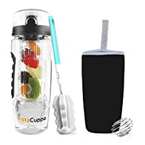 Get Instacuppa Fruit Infusion Bottle 1 Litre – (Bpa Free Tritan Infuser, I at Rs 899 | Amazon Offe