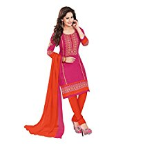 Get Ishin Women's Dress Material (Ddrmtl-D-1502_Pink_One Size) at Rs 404 | Amazon Offer