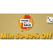 Get Jabong Cracker Of A Sale Minimum 50% - 80% OFF | Jabong Offer