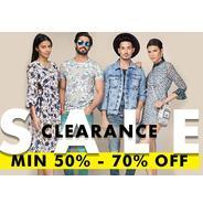 Get Jabong - Fashion Clerance Sale Minimum 50% - 70% OFF | Jabong Offer