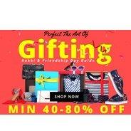 Get Jabong - Rakhi Gifting Store Minimum 40% - 80% OFF   Jabong Offer