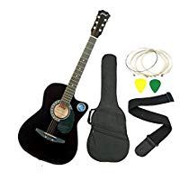 Get Jixing JXNG 6 Strings Acoustic GuitarsBlack at Rs 1799 | Amazon Offer
