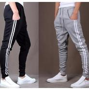 Get Joggers Park Pack Of 2 Mens Black & Grey Cotton Blend Trackpants at Rs 400 | Snapdeal Offer