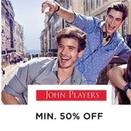 Get John Players All Products Flat 50% OFF   Myntra Offer