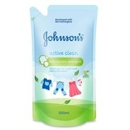 Get Johnsons Baby Laundry Detergent - Active Clean (500ml) at Rs 290 | Amazon Offer