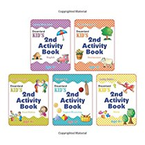 Get Kid's Activity Age 4+ Pack (5 Titles) Pb at Rs 330 | Amazon Offer