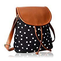 Get Kleio Womens Sling Bag Black And BrownBnb315LyBl at Rs 422 | Amazon Offer