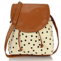 Get Kleio Womens Sling Bag Ivory Cream Bnb315LyCr at Rs 467 | Amazon Offer