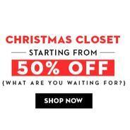 Get Koovs Christmas Closet Womens Clothing Minimum 50% OFF   koovs Offer