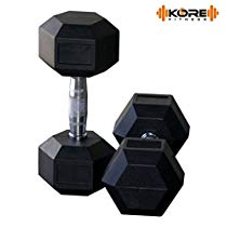 Get Kore K-DM-Hexa-3kg-Combo 16 Dumbbells Kit at Rs 928 | Amazon Offer
