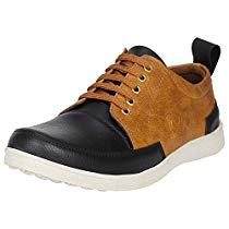 Get Kraasa Men's Faux Leather Sneaker at Rs 427 | Amazon Offer