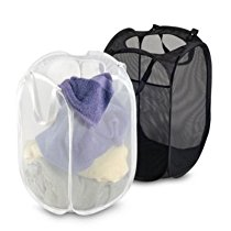 Get Kuber Industries Large Mesh Laundry Basket Set of 2 Pcs Co at Rs 335 | Amazon Offer