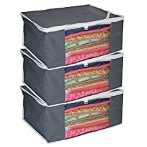 Get Kuber Industries Non Woven Saree Cover/ Saree Bag/ Storage at Rs 245 | Amazon Offer