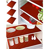Get Kuber Industries PVC 6 Piece Refrigerator Drawer Place Mat Set – Red at Rs 169 | Amazon Offer