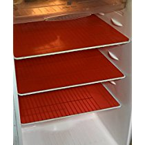 Get Kuber Industries Refrigerator Drawer Mat Fridge Mat Set o at Rs 279 | Amazon Offer
